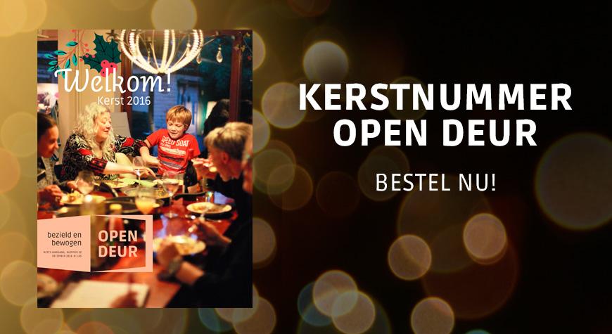 Kerstnummer Open Deur